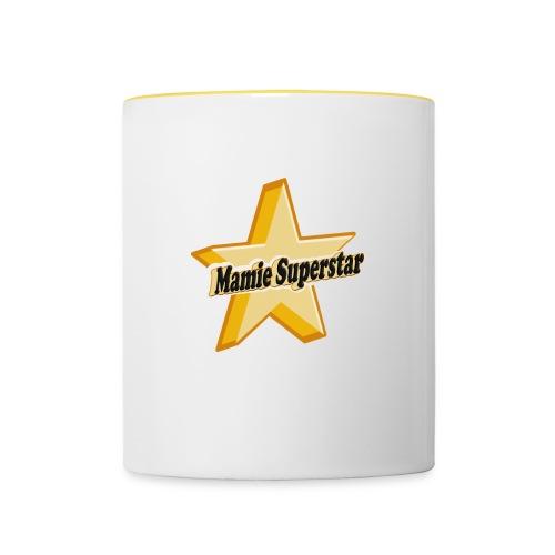Tasse Mamie Superstar - Mug contrasté