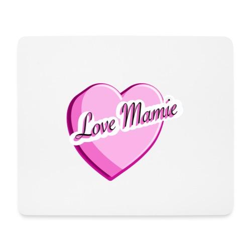Tapis de souris Love Mamie - Tapis de souris (format paysage)