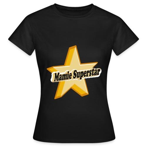 T-shirt Mamie Superstar - T-shirt Femme