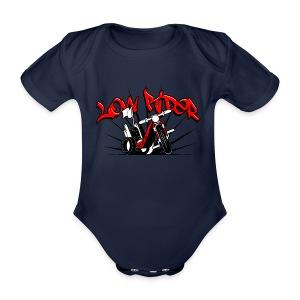 body 0004 - Ekologiczne body niemowlęce z krótkim rękawem