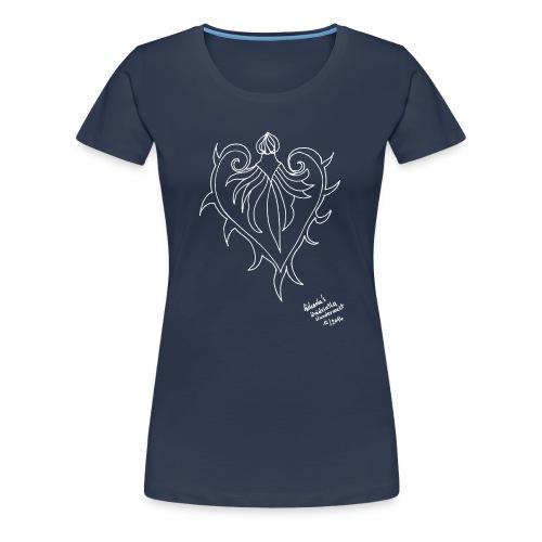 Blutherz 12/2016 - Frauen Premium T-Shirt