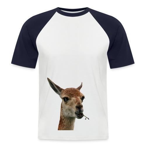 Vicuna Robber Monk Baseballshirt - Men's Baseball T-Shirt