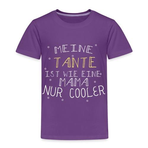 Coole Tante  - Kinder Premium T-Shirt