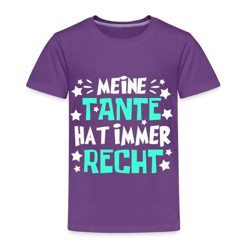 Tante hat recht - Kinder Premium T-Shirt