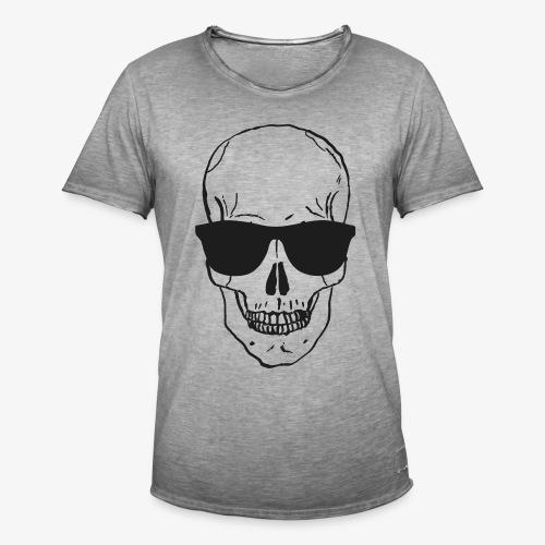 Skull Vintage - Männer Vintage T-Shirt