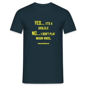 Got A Ukulele Wagon Wheel - Men's T-Shirt