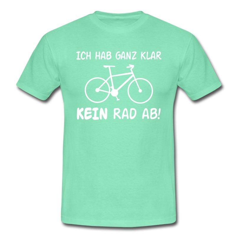 fahrrad sprüche motiv t-shirt | spreadshirt