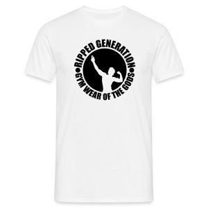 Miesten T-Paita Ripped Generation - Miesten t-paita