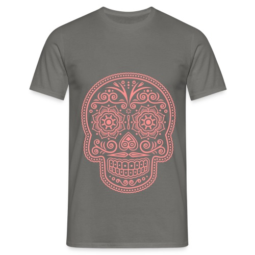 Tee-Shirt Homme - Tête de mort mandala - T-shirt Homme