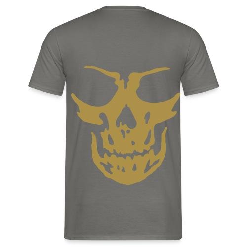 Tee-Shirt Homme - Tête de mort (dos) - T-shirt Homme