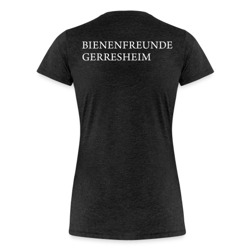 BFG-Frauen mit logo back - Frauen Premium T-Shirt