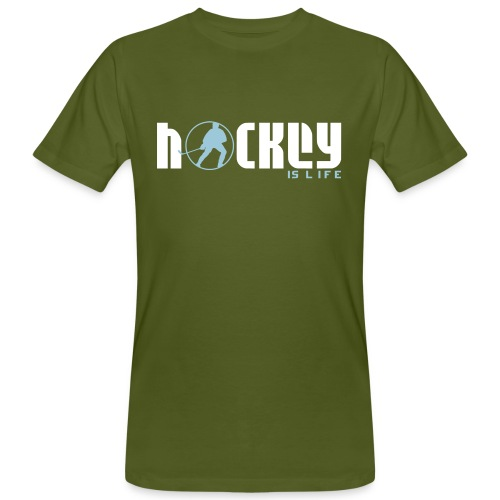 Hockey is Life Men's Organic T-Shirt - Men's Organic T-Shirt