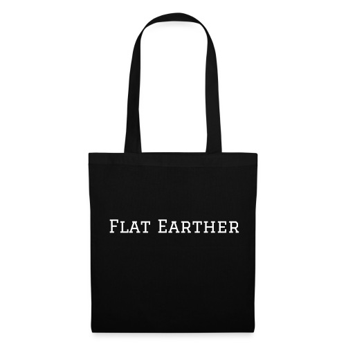 flat earth bag - Stoffbeutel