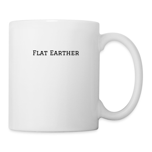 flat earth mug - Tasse