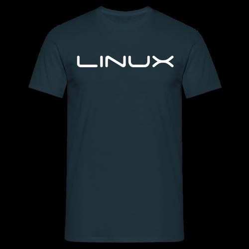 T-Shirt mit Aufdruck Linux - Männer T-Shirt