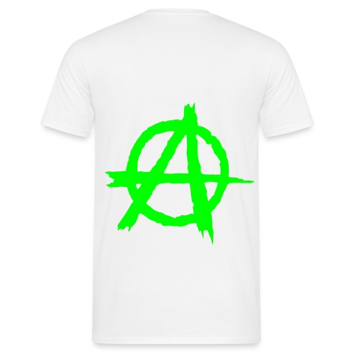 Tee-Shirt Homme - Anarchy (dos) - T-shirt Homme
