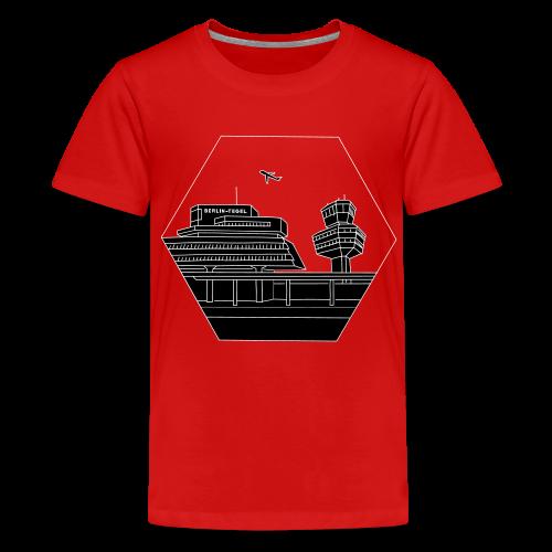 Flughafen Tegel TXL 2 - Teenager Premium T-Shirt
