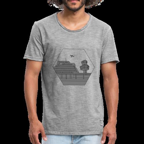 Flughafen Tegel TXL 2 - Männer Vintage T-Shirt