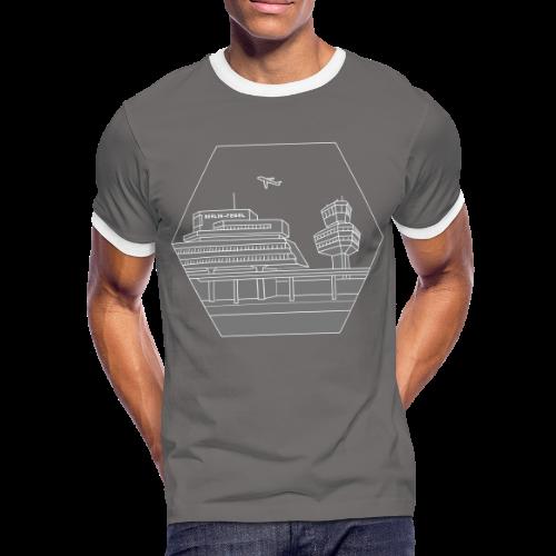 Flughafen Tegel TXL 2 - Männer Kontrast-T-Shirt