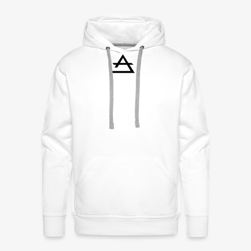 Sweat-shirt Blanc Anorax Anabu - Sweat-shirt à capuche Premium pour hommes