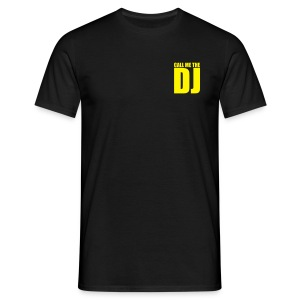 T-shirt dj yellow - T-shirt Homme