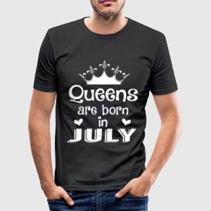 July - Queen - Birthday - 1 T-shirts - slim fit T-shirt