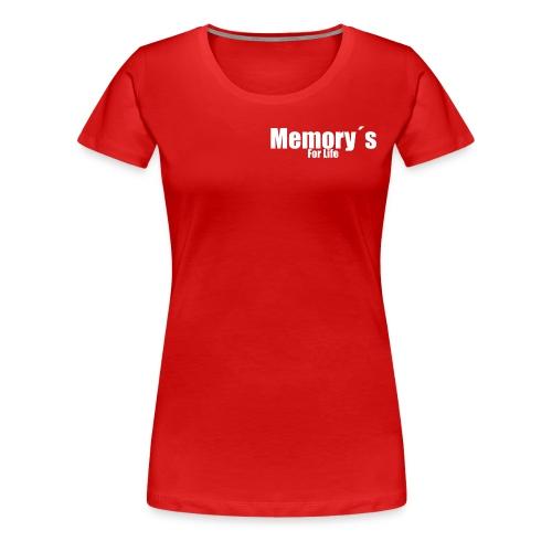 Memory´s Woman Original - Women's Premium T-Shirt