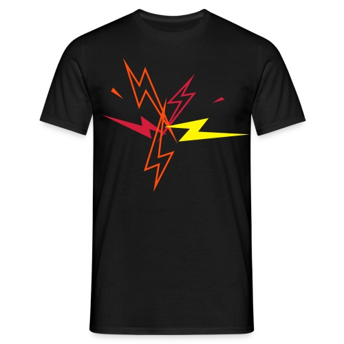 Lightning - Mannen T-shirt