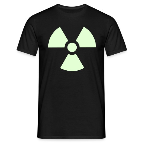 Radioactive (glow in the dark) - Mannen T-shirt