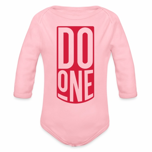 Do One Baby One Piece - Organic Longsleeve Baby Bodysuit