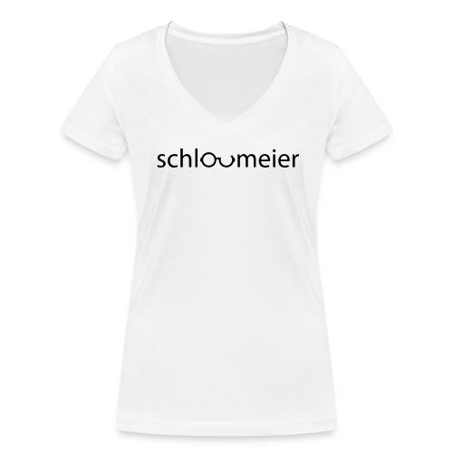 schlaumeier T-Shirt - Frauen Bio-T-Shirt mit V-Ausschnitt von Stanley & Stella