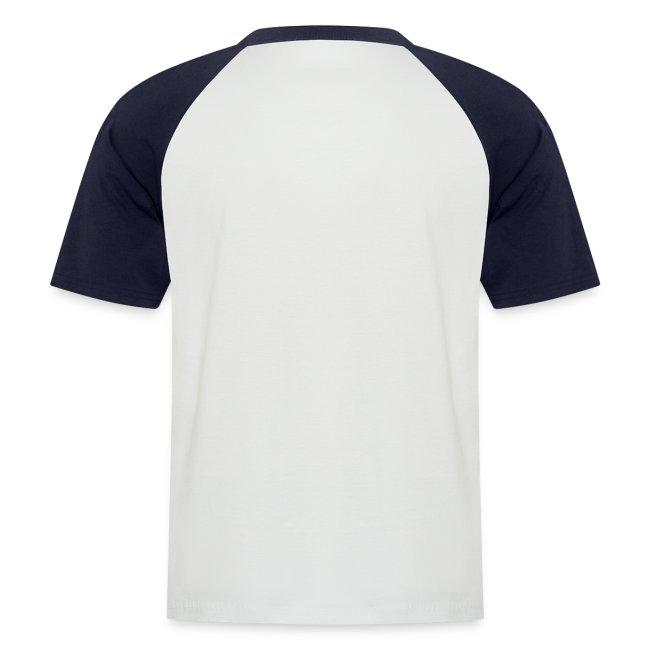Männer kurzärmeliges Baseballshirt