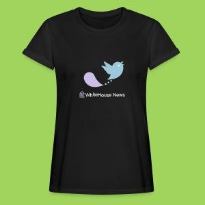 WhiteHouse News - Frauen Oversize T-Shirt
