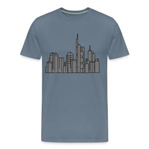 Frankfurt Skyline 2 - Männer Premium T-Shirt