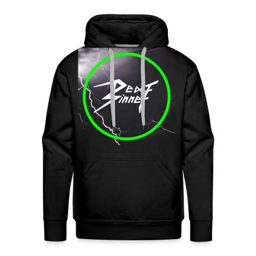 Logo_Blitz Pullover - Männer Premium Hoodie