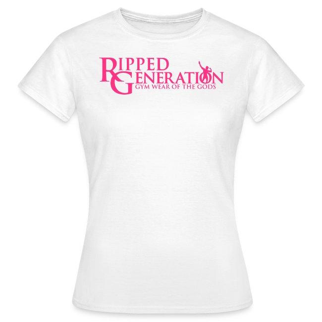 Naisten T-Paita Ripped Generation