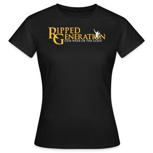 Naisten T-Paita Ripped Generation - Naisten t-paita