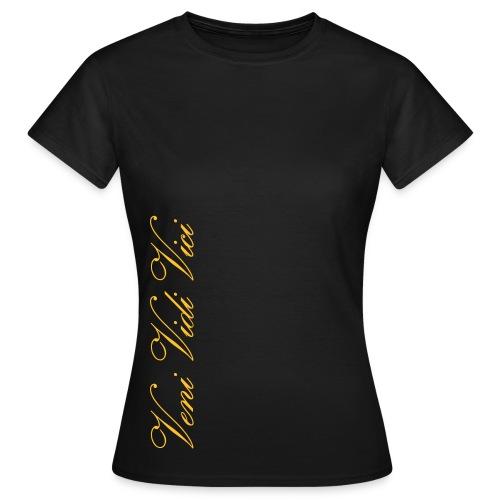 Naisten T-Paita Veni Vidi Vici - Naisten t-paita