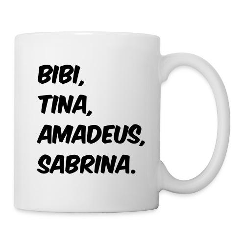 Bibi und Tina Typographie  - Tasse