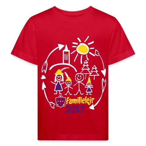 FDF Familielejr 2017 Økologisk - Organic børne shirt