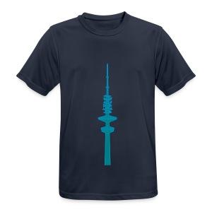 Hertz-Turm Hamburg 2 - Männer T-Shirt atmungsaktiv