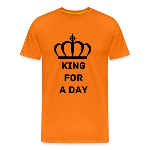 King for a day - Mannen Premium T-shirt