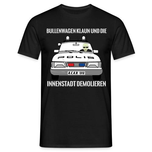 Bullenwagen klaun - T-Shirt - Männer T-Shirt