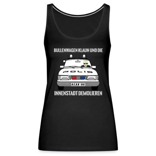 Bullenwagen klaun - Girlie Top - Frauen Premium Tank Top