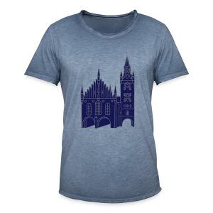 Altes Rathaus München 2 - Männer Vintage T-Shirt