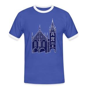 Altes Rathaus München 2 - Männer Kontrast-T-Shirt