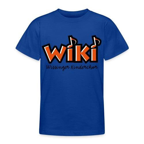 WiKi-T-Shirt groß - Teenager T-Shirt