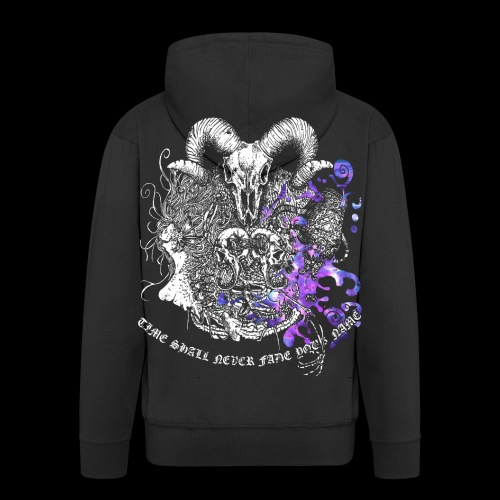 LAVENDER ZODIAC Zip Up Hoodie - Men's Premium Hooded Jacket