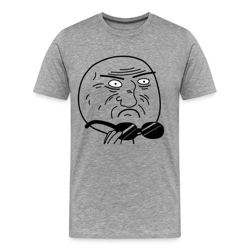 hmm - Mannen Premium T-shirt