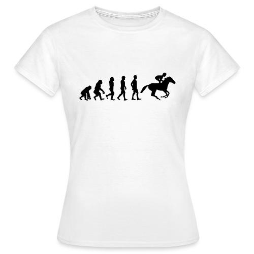 Reiter Evolution - Frauen T-Shirt